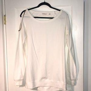 Guess medium white sweater